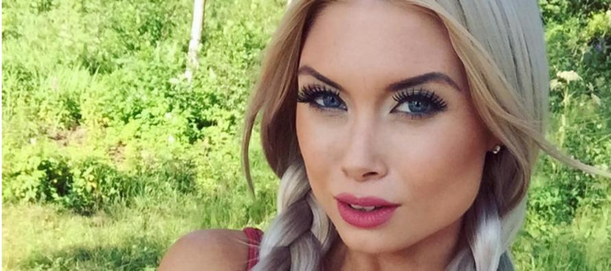 Ex-Miss Helsinki Isabel Ljungdell rakastaa rohkeita poseerauskuvia! + KUVA!