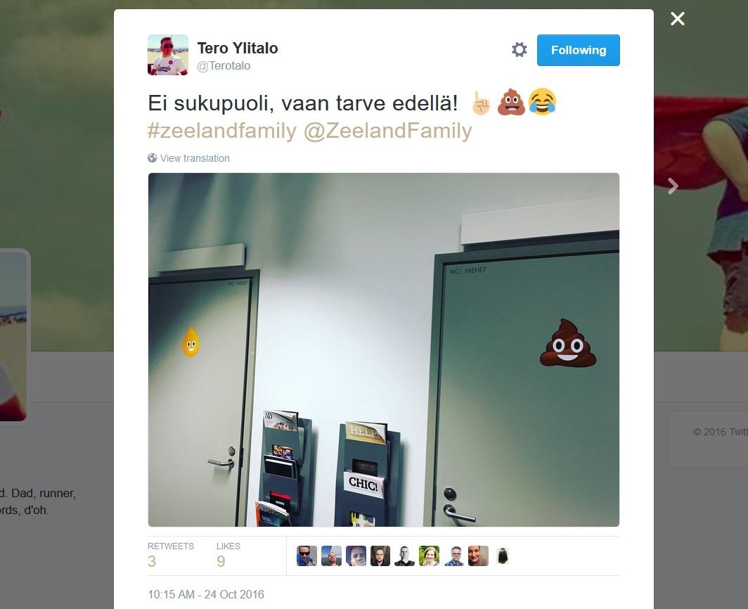 Tero Ylitalo väljavõte Twitterist