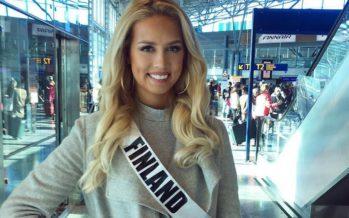 Emilia Seppänen valmiina Miss International Beauty-kisaan