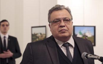 Turkissa tapettiin Venäjän lähettiläs Andrei Karlov