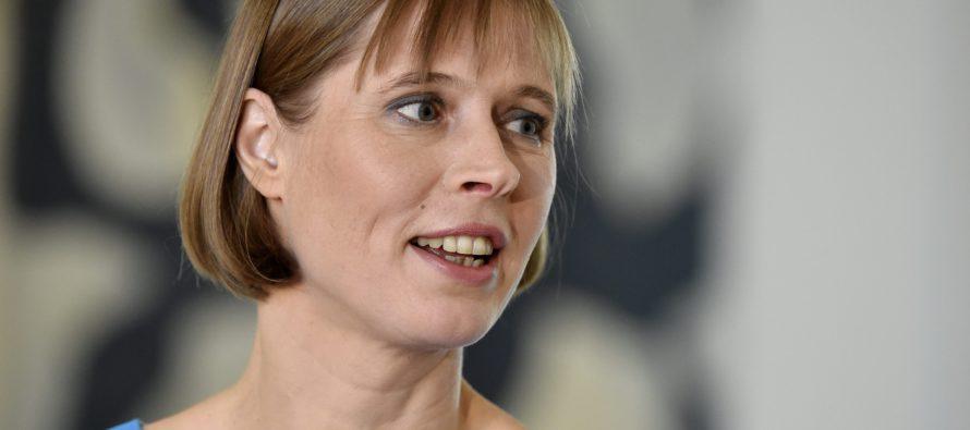Viron presidentti Kersti Kaljulaid: Info ei maksa juuri mitään ja se on kaikkien saatavilla