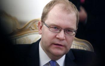 Urmas Paet: Putin on Syyrian sotaan sekaantumalla vetänyt osan tulesta myös venäläisten suuntaan