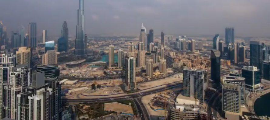 Dubain prinssin kahvihetki pilvenpiirtäjän huipulla – silmiähivelevät maisemat! KUVAT & VIDEOT!