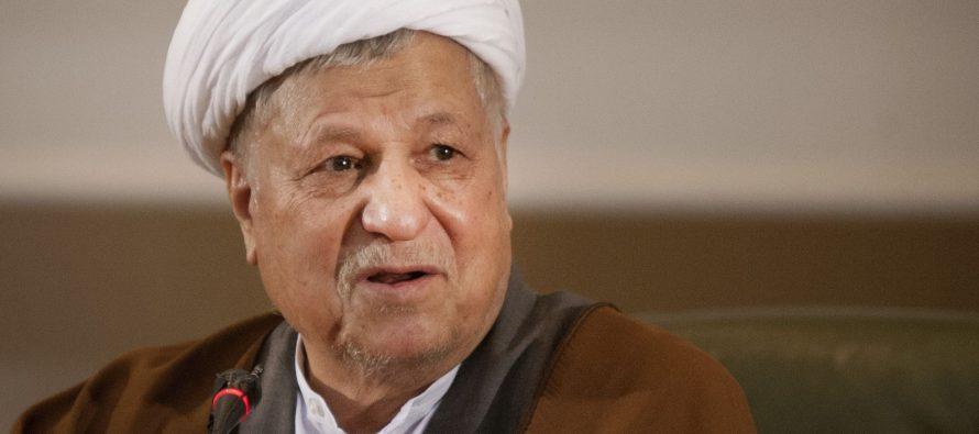 Iranin entinen presidentti on kuollut