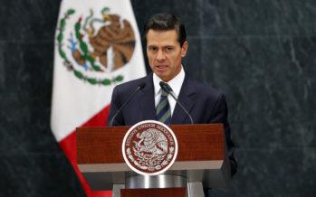 Meksikon presidentti Enrique Peña Nieto peruutti ensi viikolle suunnitellun USA:n vierailun
