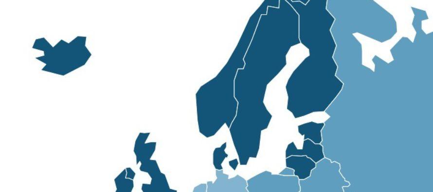 YK sijoitti Baltian maat Pohjois-Euroopan maiksi