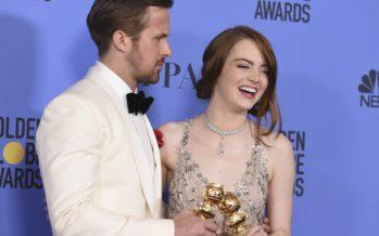 La la land voitti Golden Globe -palkintojen jaossa koko potin