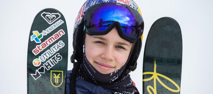 Freestyle-hiihtäjä Kelly Sildaru tuli Sveitsissä Crans-Montanassa järjestetyissä MM-kisoissa juniorien maailmanmestariksi!