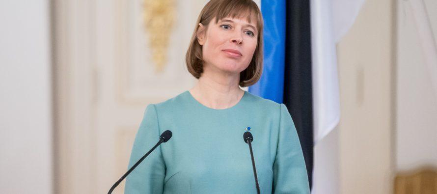 Kaljulaid Washington Postille: Venäjä vaarantaa kansainvälisen turvallisuuden perustuksia