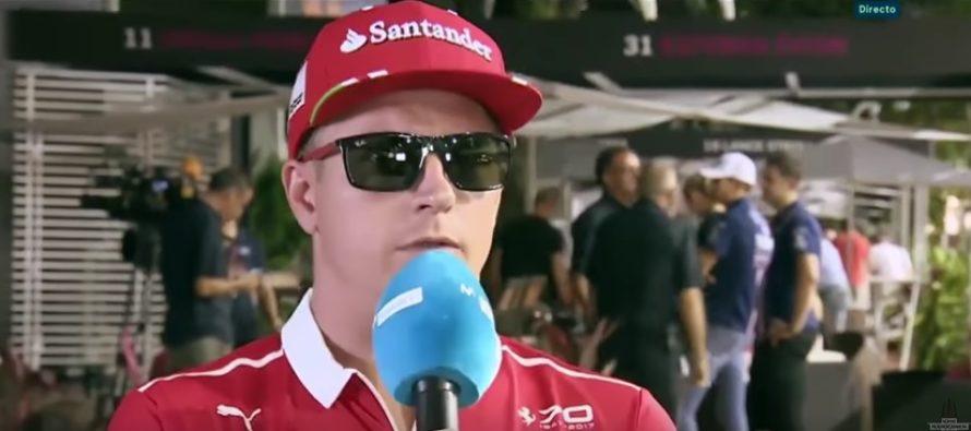 Suomalainen F1-kuljettaja Kimi Räikkönen täyttää tänään 38 vuotta!