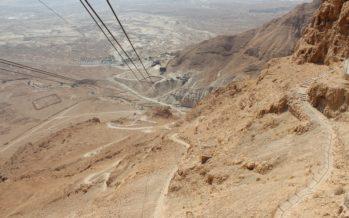 Helena-Reet: Israelin matkablogi. Masada – yksi juutalaisten roomalaisvallan vastustamisen tunnetuimmista symboleista