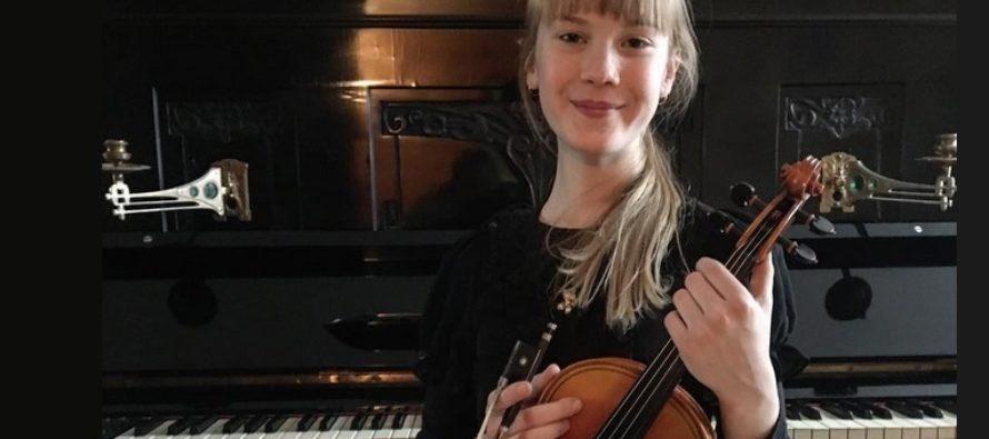 Helena-Reet: Tänään Virossa järjestettiin valtakunnalliset viulukilpailut – Minun tyttäreni, 11-vuotias Estella Elisheva, on nyt virallisesti Viron kolmanneksi paras viulisti!