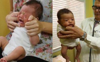 Lastenlääkäri: Näin rauhoitat itkevän vauvan sekunneissa. Vinkki toimii joka kerta! + VIDEO!