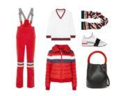 LUXURY shopping – Urheilullinen punainen & valkoinen setti (Look #2)
