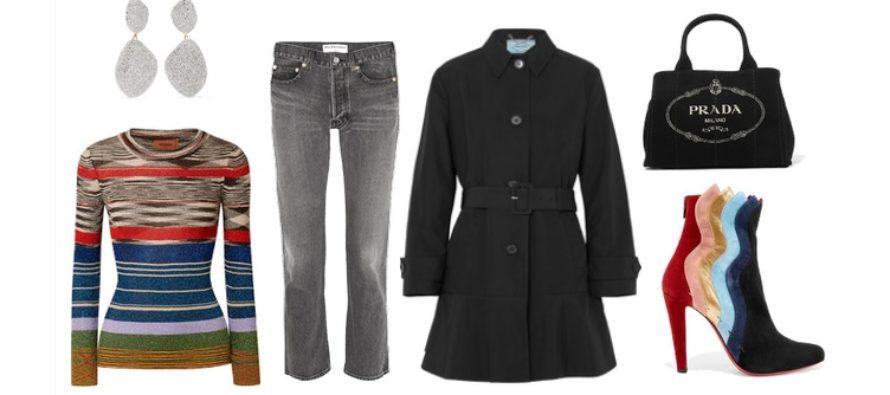 LUXURY shopping – Mustaa ja raitoja (Look #4)
