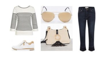 EDULLISTA shoppailua – Tyylikäs setti beigeä ja valkoista (Look #2)