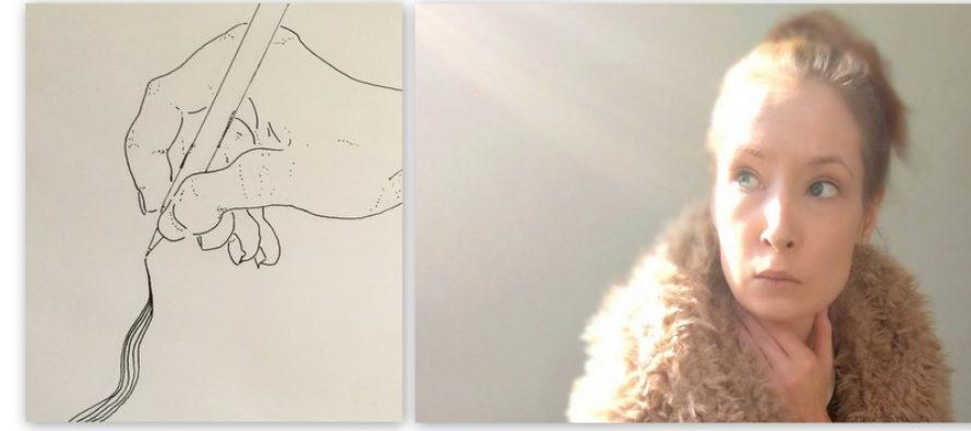 Iina Koppinen: Kirjoittaen ja kuvaten – sekä silmät suljettuna kokeilu piirtää