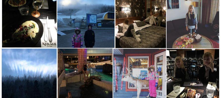 Helena-Reet: Lasten kanssa autolla Suomen ympäri (VOL6 – Levi Hotel SPA Sirkassa, ravintola Kekäle, upea luonto, laskettelumäet ym. ym.) + PALJON KUVIA!