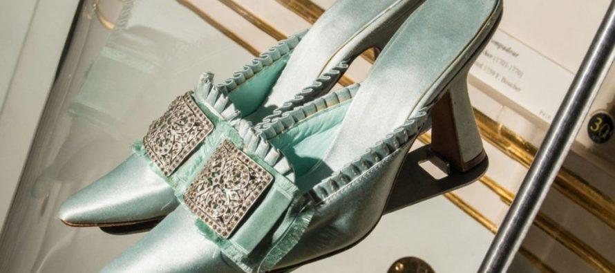 Manolo Blahnikin kenkänäyttely Lontoon Wallace Collectionin museossa