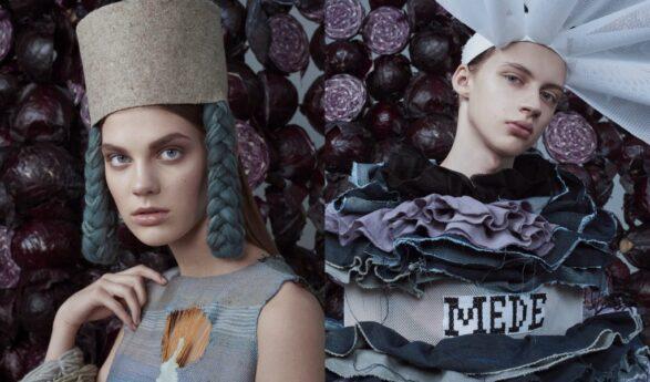 """Viron taideakatemian muodin opiskelijoiden valokuvanäyttely """"Viron oma sininen"""" Tarton tavaratalossa Kaubamaja"""