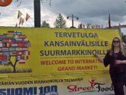 Tuija Järvinen: Kansainvälisillä Suurmarkkinoilla viime viikonloppuna